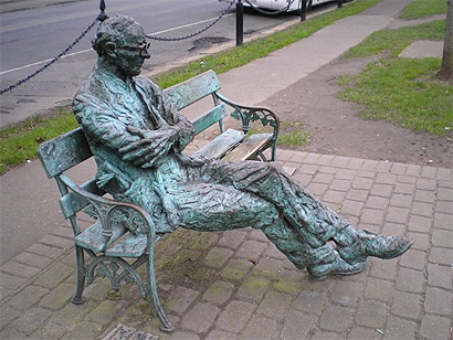 Patrick kavanagh seat photo